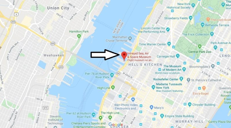 Where is Intrepid Sea, Air & Space Museum? How do I get to the Intrepid Sea Air and Space Museum?