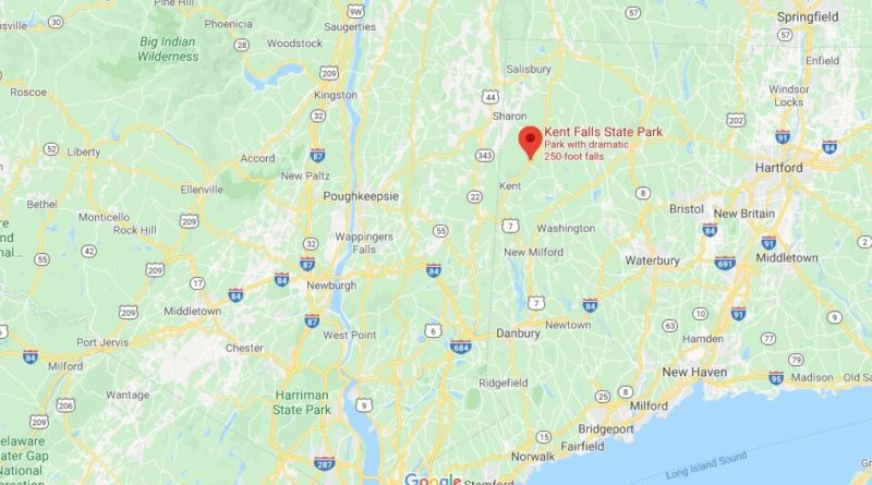 Where is Kent Falls State Park? Can you swim in Kent Falls CT?