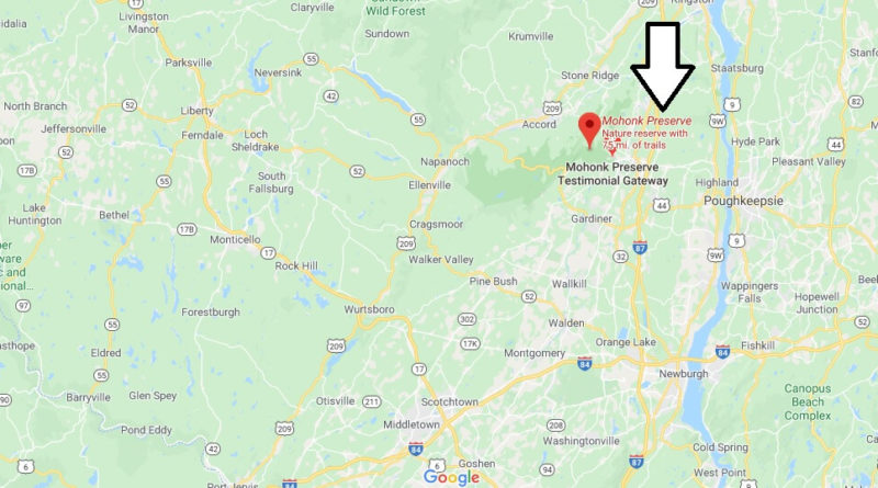 Where is Mohonk Preserve - How do you get to Mohonk Preserve