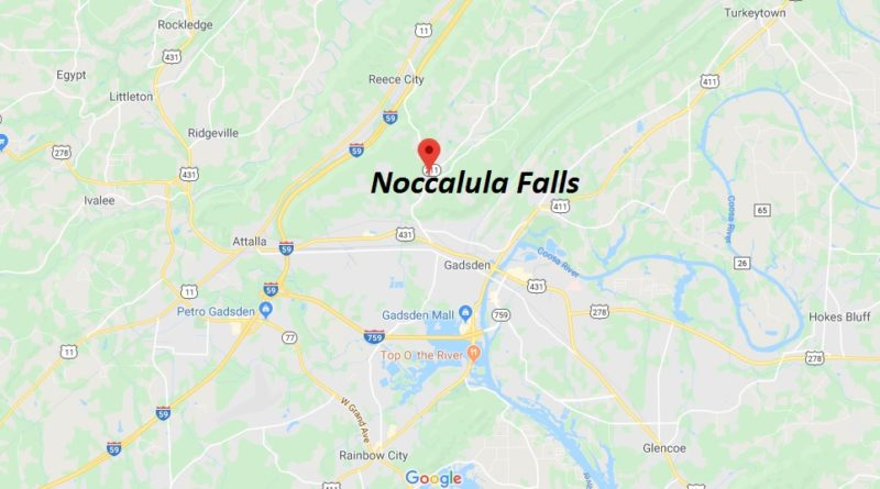 Where is Noccalula Falls? How much does it cost to go to Noccalula Falls?