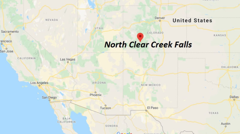 Where is North Clear Creek Falls?