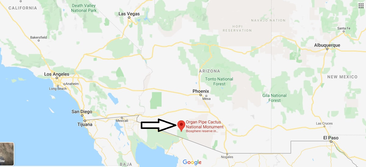 Where is Organ Pipe Cactus National Monument? Is Organ Pipe Cactus National Monument safe?