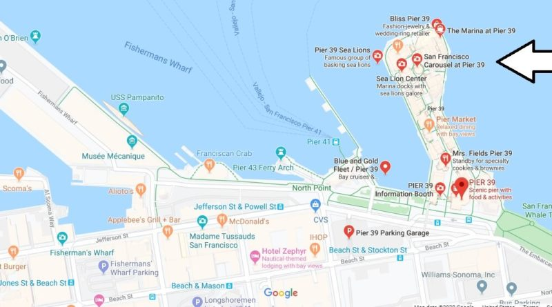 Where is PIER 39? Is Fisherman's Wharf and Pier 39 the same thing?