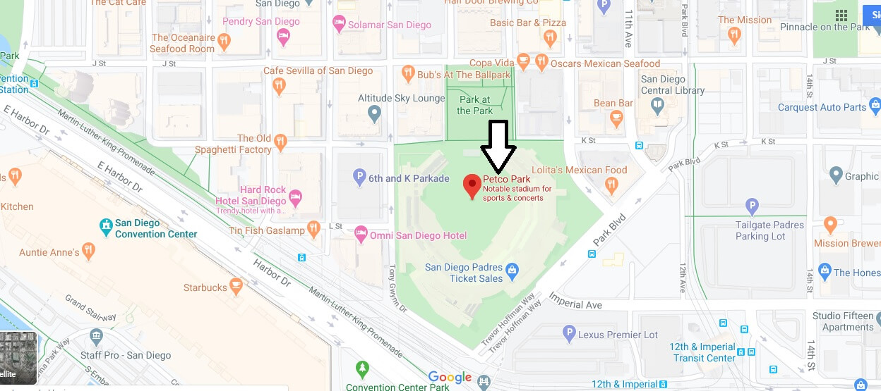 Where is Petco Park? Is Petco Park owned by Petco?