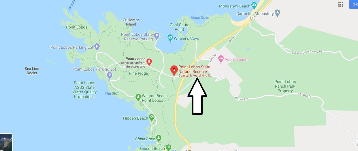 Where is Point Lobos State Reserve? How do you get to Point Lobos State Reserve?