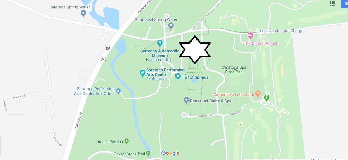 Where is Saratoga Spa State Park? Why is Saratoga called the spa?