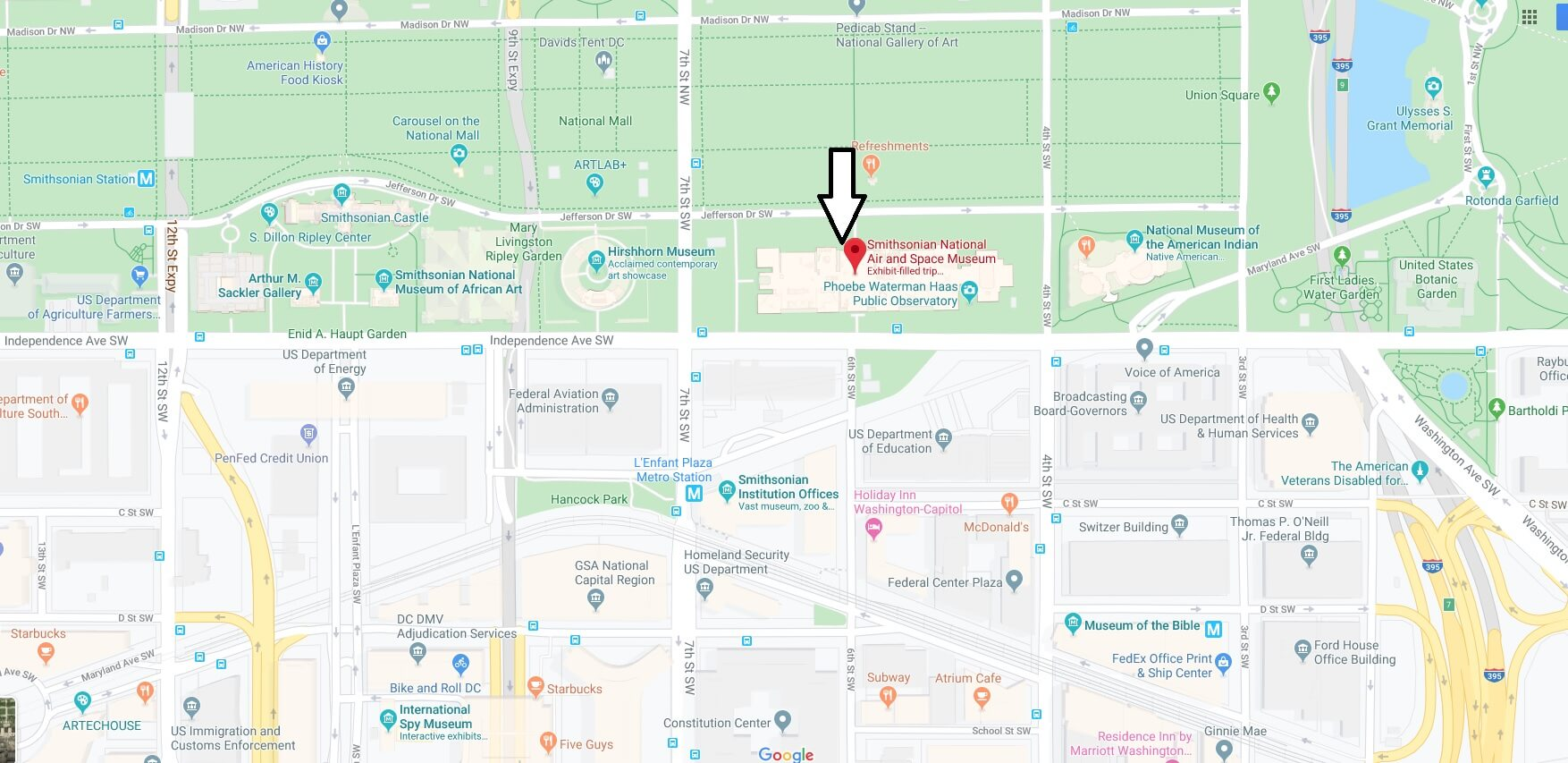 Where is Smithsonian National Air and Space Museum? Are there 2 Air and Space museums?