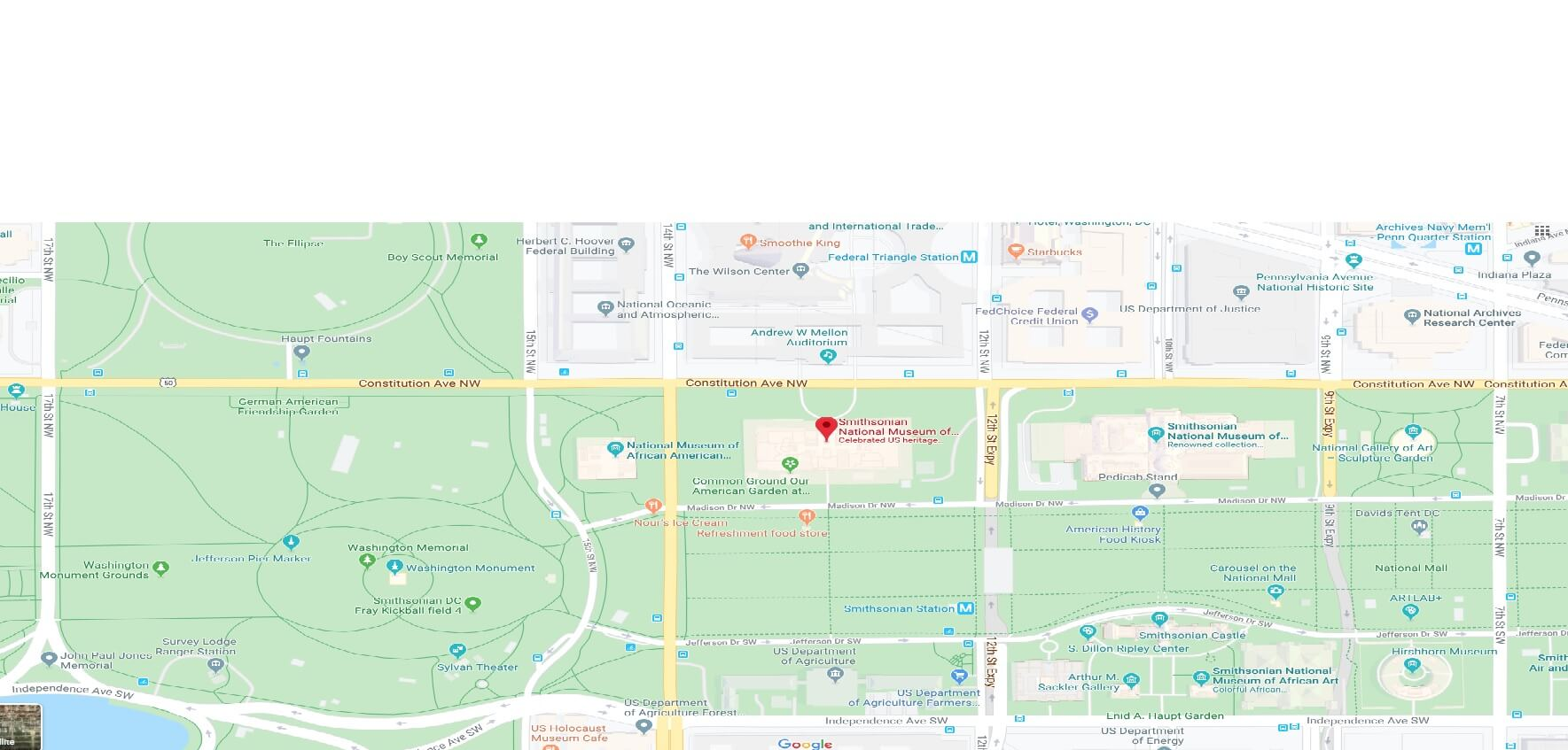 Where is Smithsonian National Museum of American History? Is the National Museum of American History free?