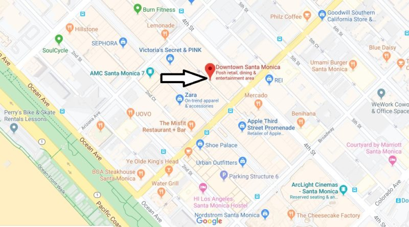 Where is Third Street Promenade? What is there to do at 3rd Street Promenade?