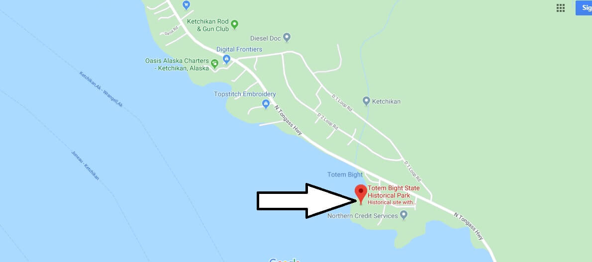 Where is Totem Bight State Historical Park? When is Totem Bight State Historical Park open?