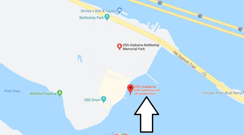Where is USS Alabama Battleship Memorial Park? Where is the USS Alabama docked at?