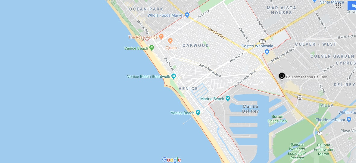 Where is Venice Beach? What is Venice Beach known for?