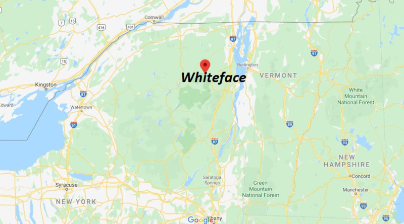 Where is Whiteface? What town is Whiteface Mountain in?