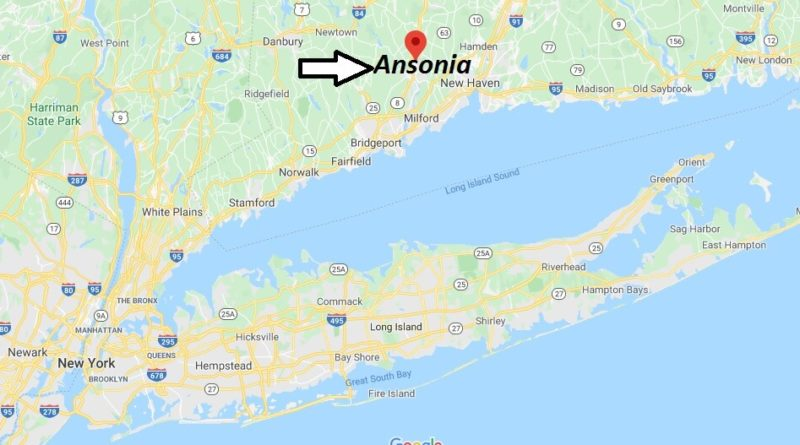 Where is Ansonia, Connecticut? What county is Ansonia in? Ansonia Map
