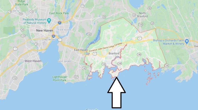 Where is Branford, Connecticut? What county is Branford in? Branford Map