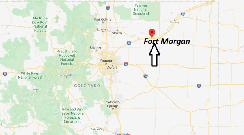 Where is Fort Morgan, Colorado - What county is Fort Morgan in- Fort Morgan Map