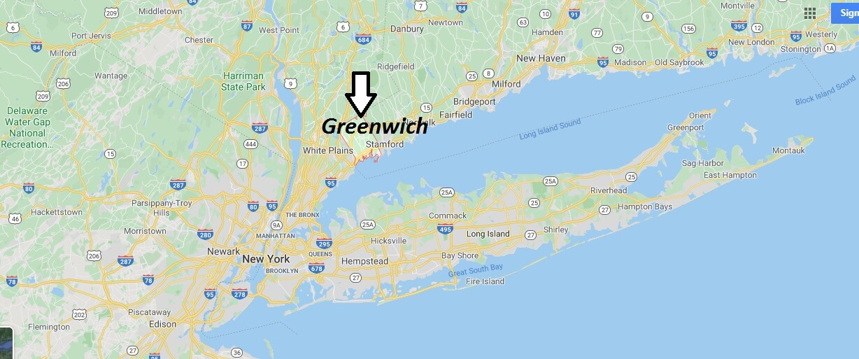 Where is Greenwich, Connecticut? What county is Greenwich in? Greenwich Map
