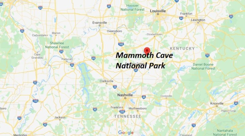 Where is Mammoth Cave National Park? What city is Mammoth Cave National Park in?