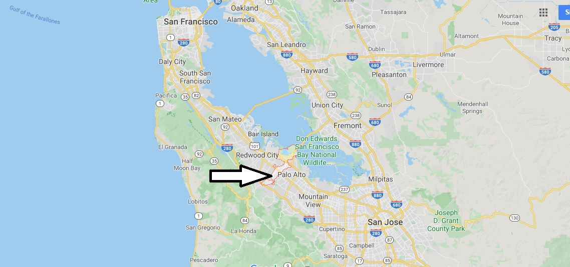 Where is Menlo Park, California? What county is Menlo Park in? Menlo Park Map