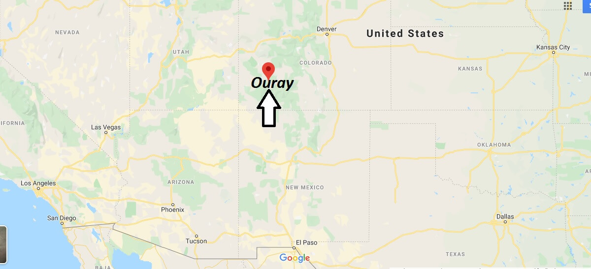 Where is Ouray, Colorado? What county is Ouray in? Ouray Map