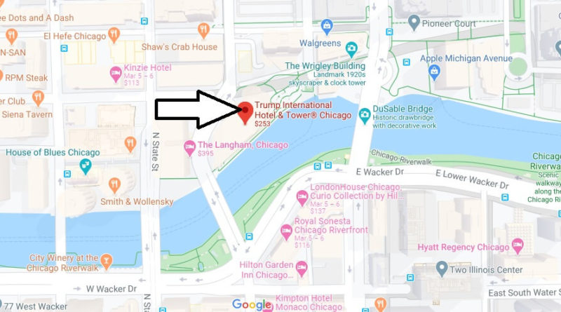 trump tower chicago map Where Is Trump International Hotel And Tower Does Trump Tower