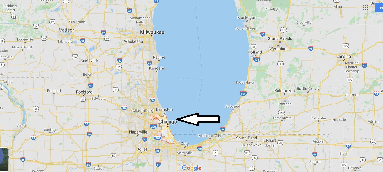 What country is Chicago Illinois in