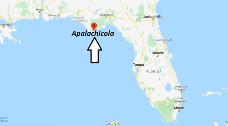Where is Apalachicola, Florida? What county is Apalachicola in? Apalachicola Map