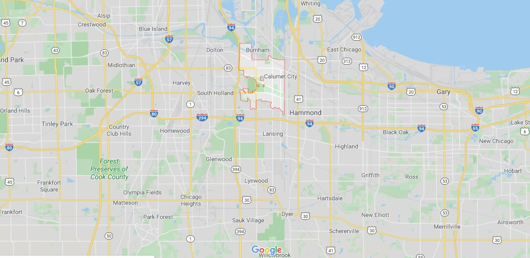 Where is Calumet City, Illinois? What county is Calumet City in? Calumet City Map