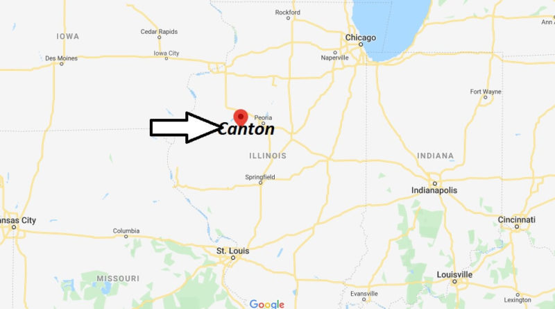 Where is Canton, Illinois? What county is Canton in? Canton Map