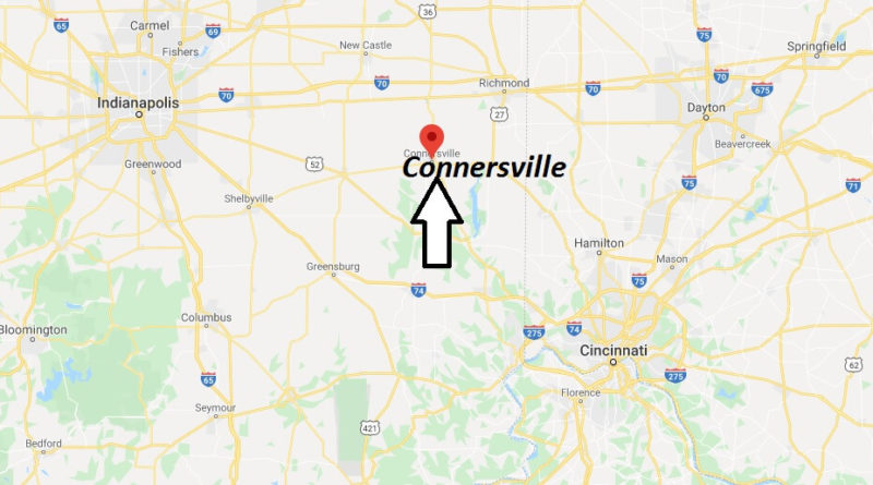 Where is Connersville, Indiana? What county is Connersville in? Connersville Map