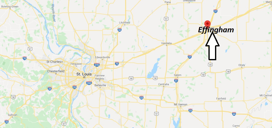 Where is Effingham, Illinois? What county is Effingham in? Effingham Map