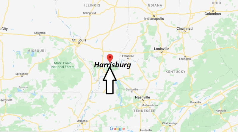 Where is Harrisburg, Illinois? What county is Harrisburg in? Harrisburg Map