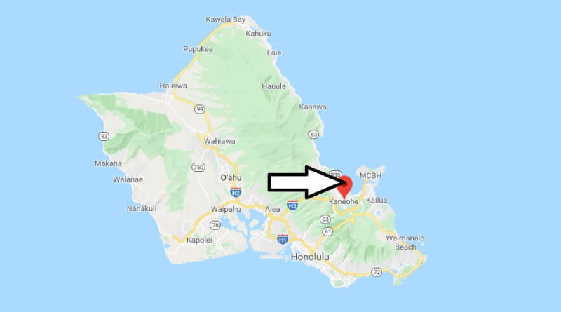 Where is Kaneohe, Hawaii? What county is Kaneohe in? Kaneohe Map