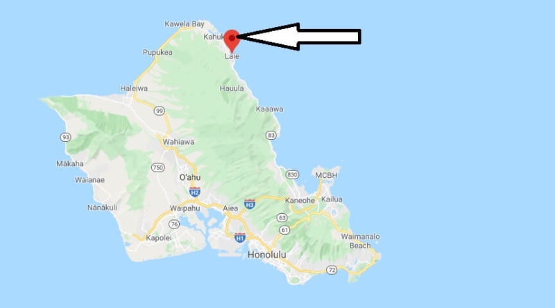 Where is Laie, Hawaii? What county is Laie in? Laie Map