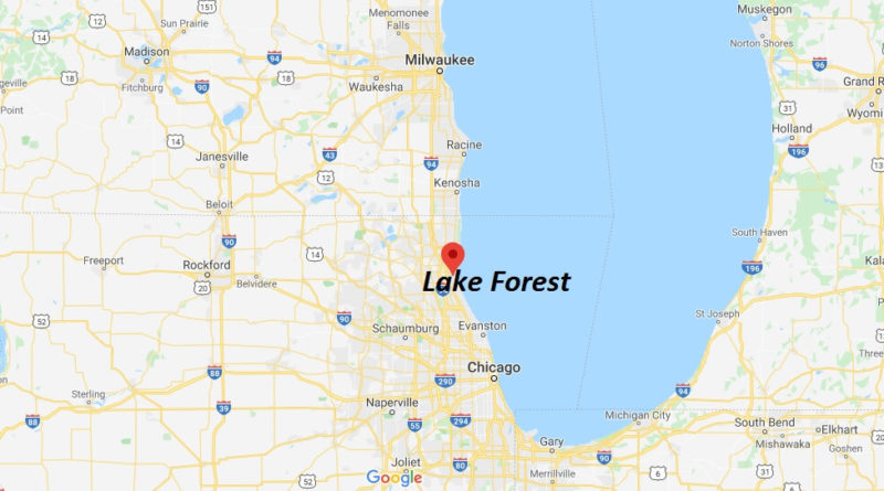 Where is Lake Forest, Illinois? What county is Lake Forest in? Lake Forest Map