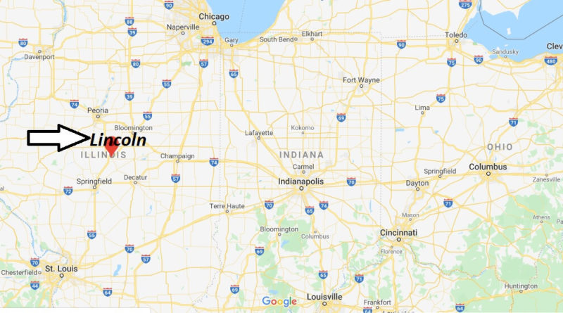 Where is Lincoln, Illinois? What county is Lincoln in? Lincoln Map