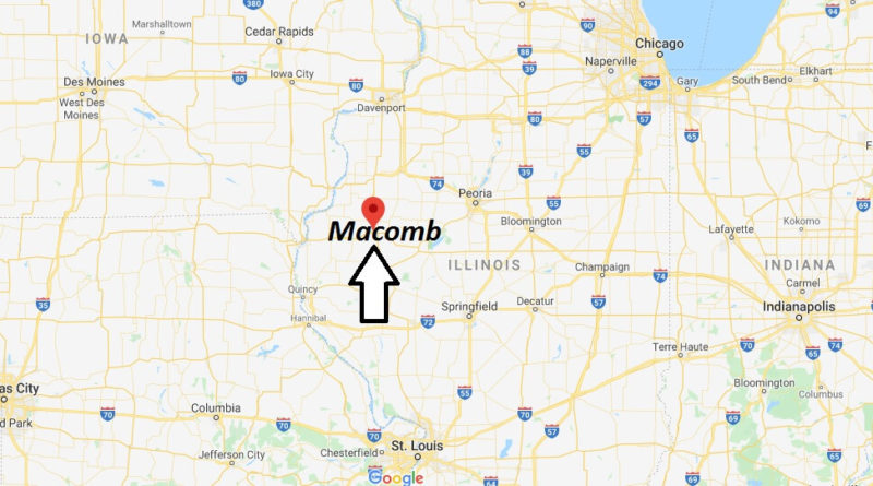Where is Macomb, Illinois? What county is Macomb in? Macomb Map