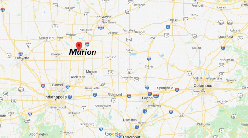 Where is Marion, Indiana? What county is Marion in? Marion Map
