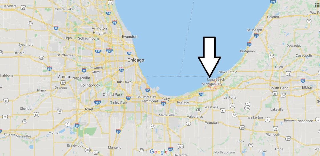 Where is Michigan City, Indiana? What county is Michigan City in? Michigan City Map