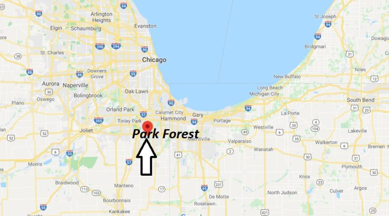 Where is Park Forest, Illinois? What county is Park Forest in? Park Forest Map