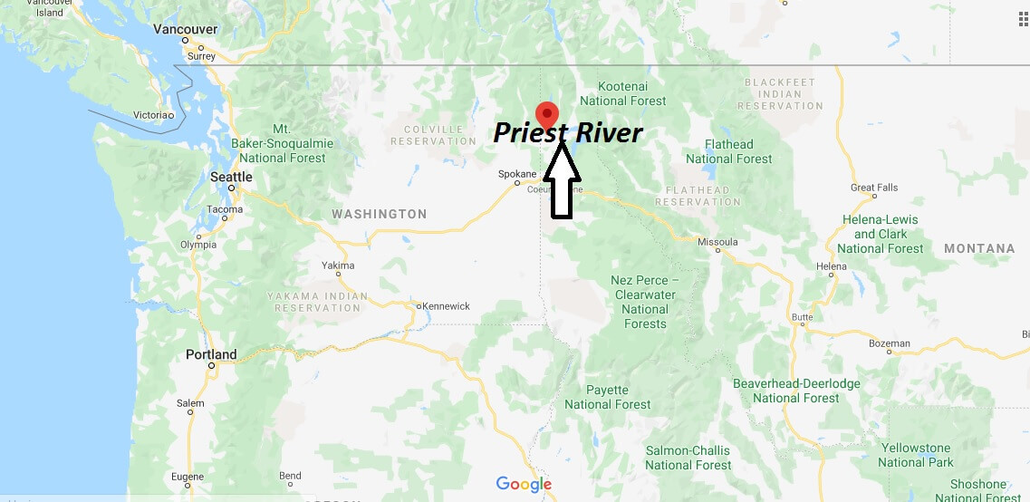 Where is Priest River, Idaho? What county is Priest River in? Priest River Map