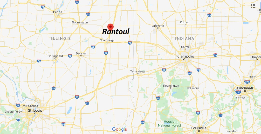 Where is Rantoul, Illinois? What county is Rantoul in? Rantoul Map