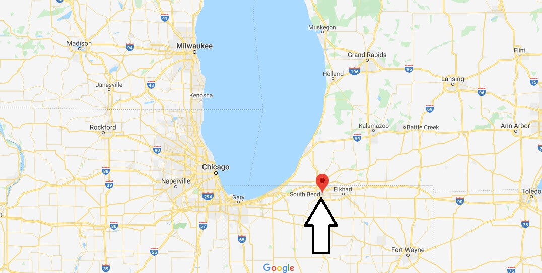 south bend indiana map google Where Is South Bend Indiana What County Is South Bend In South