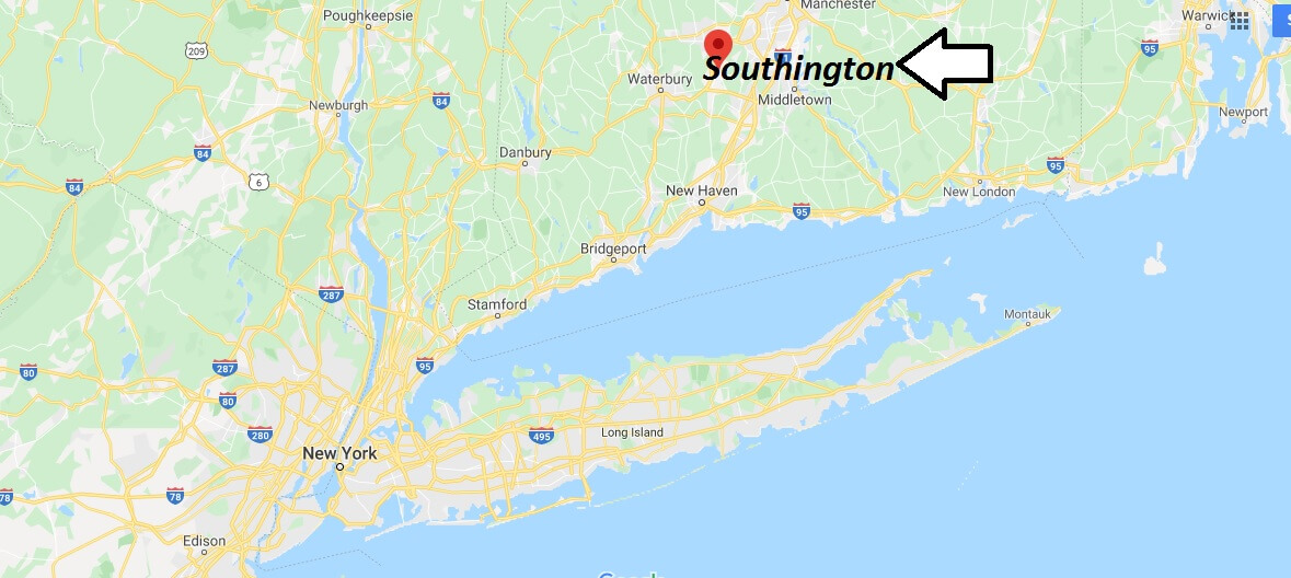 Where is Southington, Connecticut? What county is Southington in? Southington Map