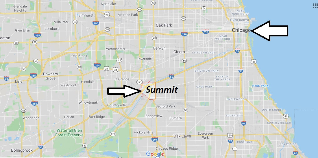 Where is Summit, Illinois? What county is Summit in? Summit Map