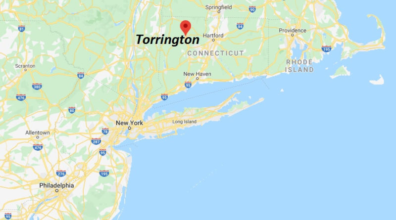 Where is Torrington, Connecticut? What county is Torrington in? Torrington Map