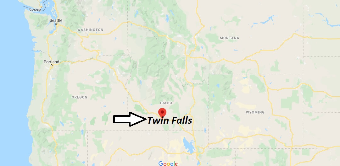 Where is Twin Falls, Idaho? What county is Twin Falls in? Twin Falls Map