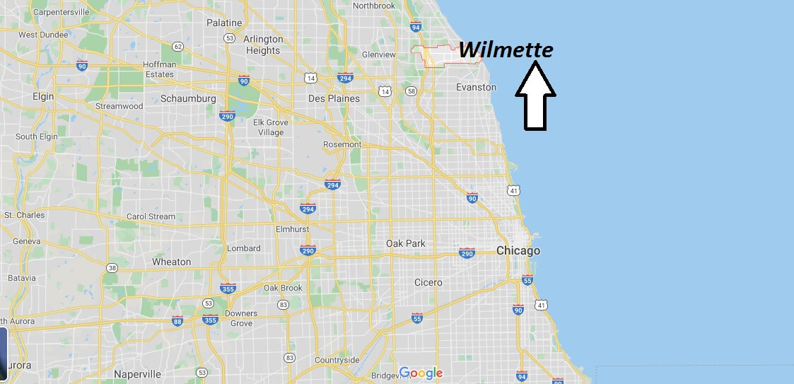 Where is Wilmette, Illinois? What county is Wilmette in? Wilmette Map