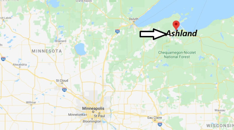Where is Ashland, Wisconsin? What county is Ashland Wisconsin in