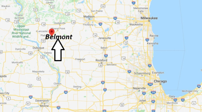 Where is Belmont, Wisconsin? What county is Belmont Wisconsin in